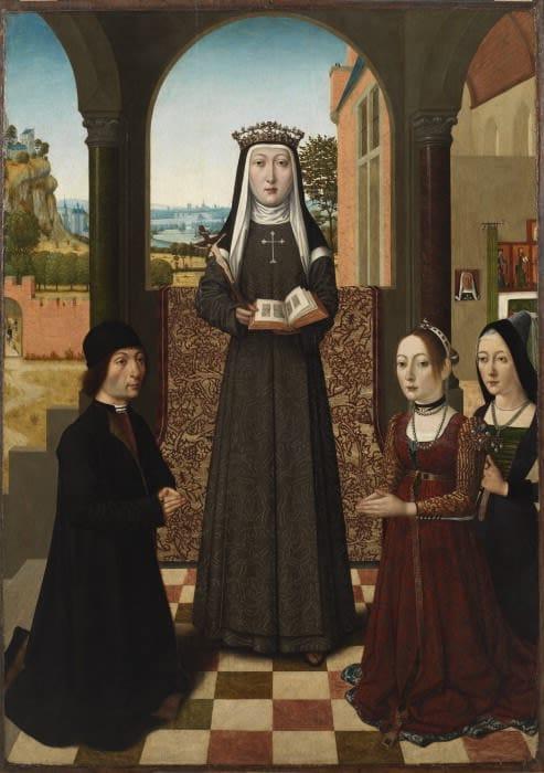 Saint Catherine of Bologna