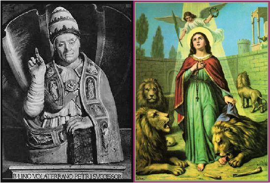 Saints Linus and Thecla