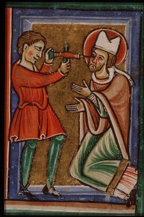 Saint Leodegar of Poitiers